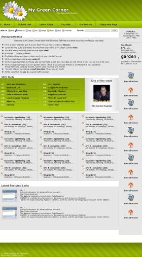My Green Web Corner v.1.0