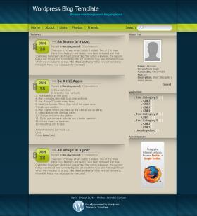 Wordpress Template no.1