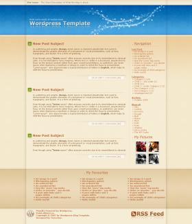 Wordpress Template no.8 - Magic