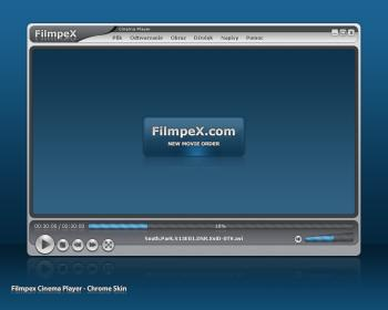 FilmpeX Cinema Player Concept