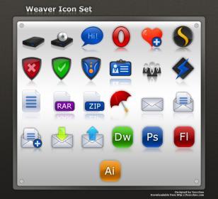 Weaver Icon Set
