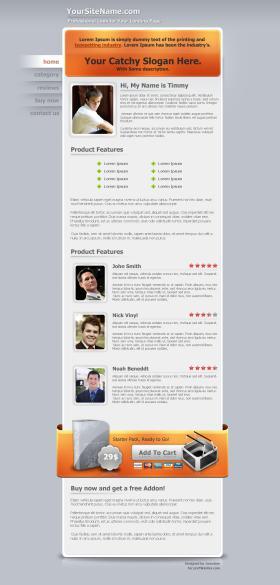 Prolandingpages.net Template #1