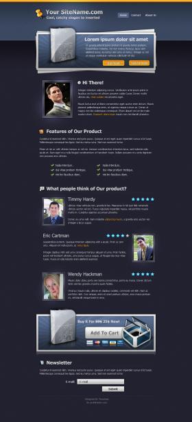 Prolandingpages.net Template #2