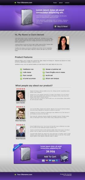 Prolandingpages.net Template #3
