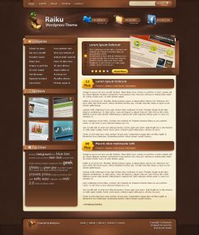 Raiku Wordpress Template