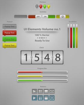UI Elements Vol.1