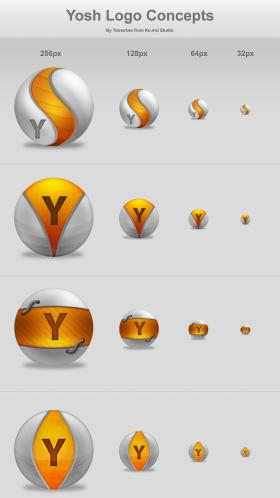 Yosh Logo Concepts