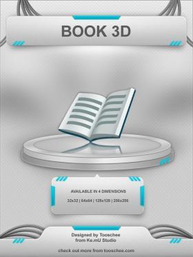 Book 3D Icon