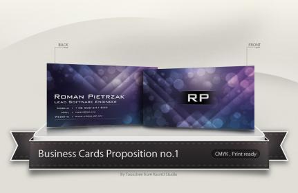 Yosh Business Card Concept no.1