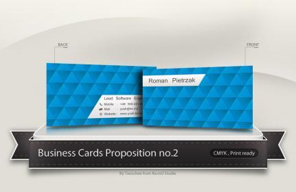 Yosh Business Card Concept no.2
