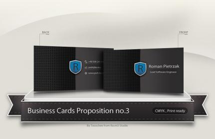Yosh Business Card Concept no.3