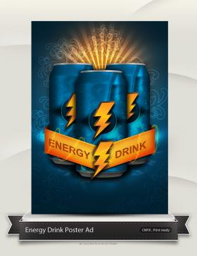Energy Drink Poster
